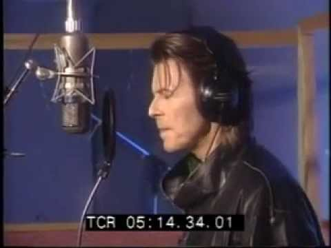 David BOWIE IN THE STUDIO AND ZDTV INTERVIEW BY LIAM MAYCLEM 1999