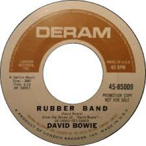 David Bowie Rubber band (1966)