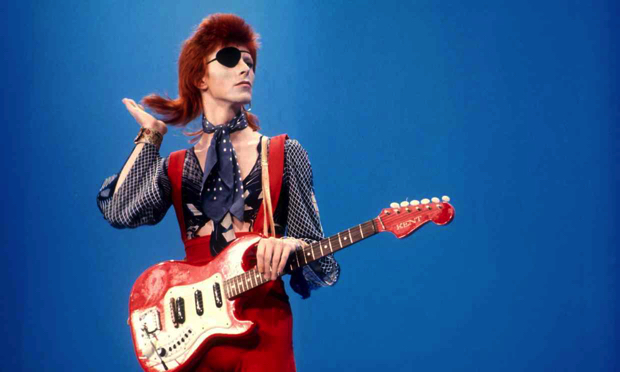 'Bromley chancer and all-devouring dilettante'- David Bowie in the mid-70s. Photograph- Sunshine,Rex,Shutterstock
