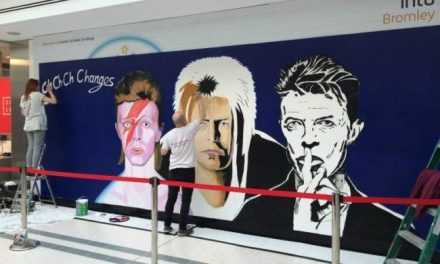 Beckenham boy David Bowie commemorated in Bromley mural