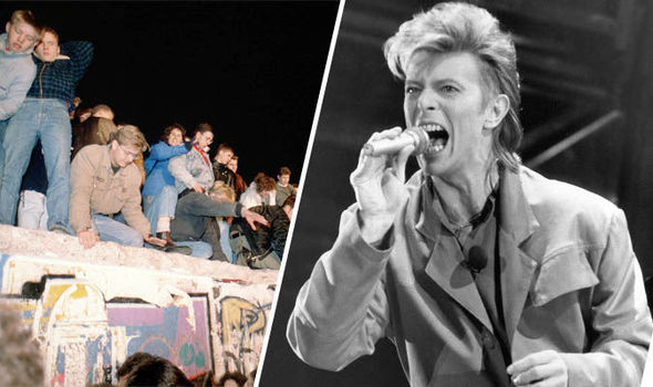 David Bowie played a West Berlin concert in the summer of 1987 that actually helped bring down the Berlin Wall.