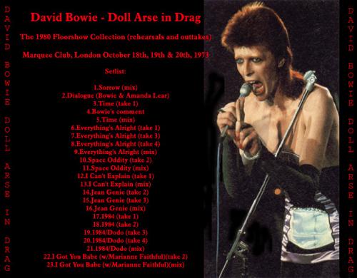 David-doll Arse in Drag-back