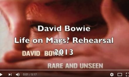 Unreleased audio of David Bowie rehearsing for 2013/2014 tour???