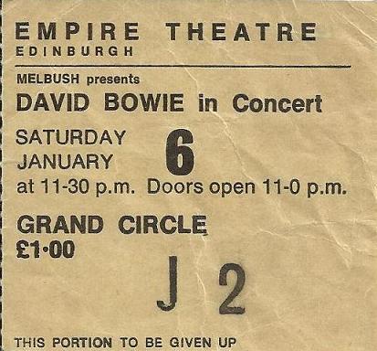 1973-01-06 Edidingburg ,Empire Theatre