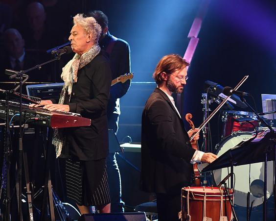 Legendary Velvet Underground veteran John Cale was the last performer to take the stage (BBC/Mark Allan)