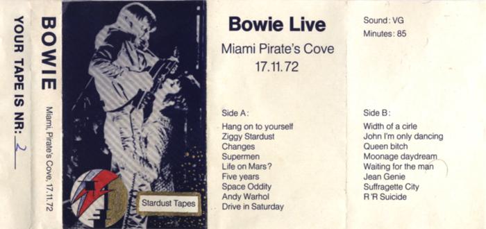 DAVID-BOWIE-MIAMI-PIRATE'S-COVE-tape