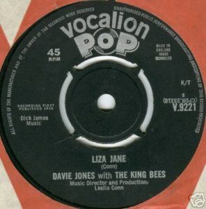 David Bowie Liza Jane (1964 - as Davie Jones with the King Bees)