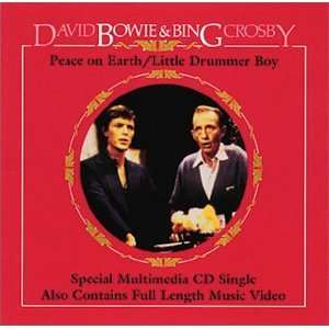 David Bowie Peace on Earth / Little Drummer Boy (Christmas song with an added counterpoint performed by David and Bing Crosby in 1982)