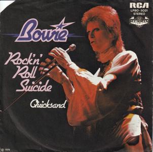 David Bowie Rock 'n' Roll Suicide (1974)