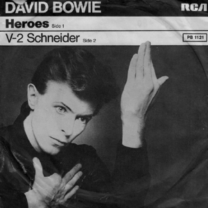 """David Bowie """"Heroes (1977)"""