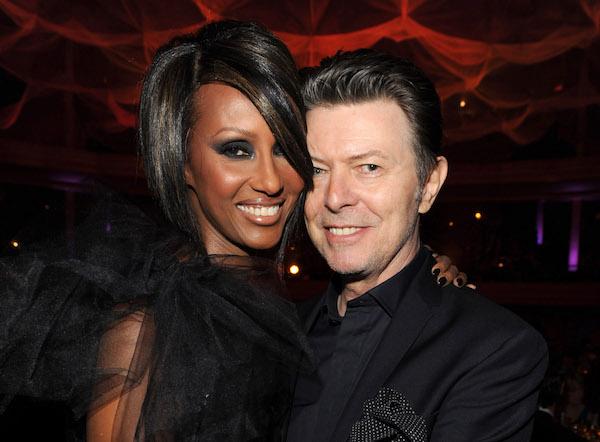 Watch Iman dedicate award to late husband David Bowie