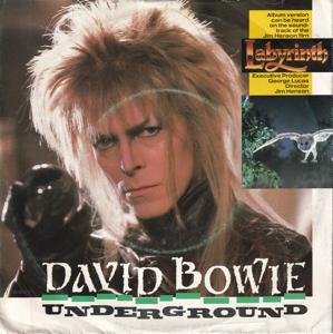 David Bowie Underground (1986)