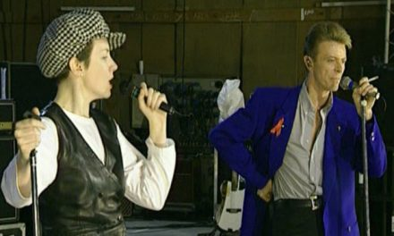 Rehearsal- Annie Lennox and David Bowie with Queen – Under pressure
