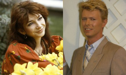 Kate Bush pays tribute to the 'beauty and power' of David Bowie