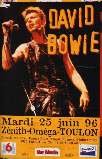 David Bowie affiche