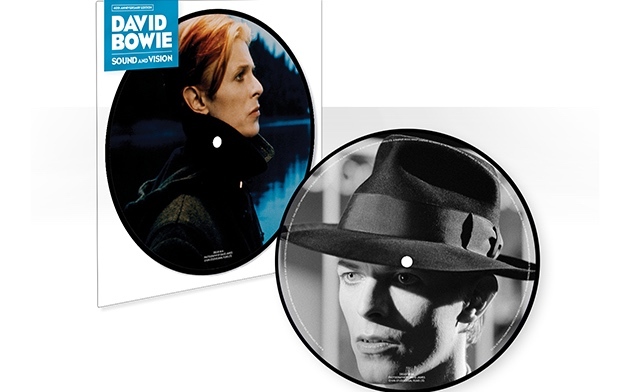 """New David Bowie Picture Disc Featuring Unreleased Mix of """"Sound and Vision"""""""