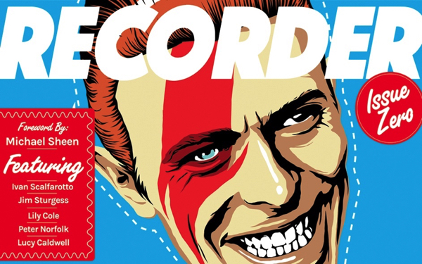 Recorder! A new print magazine – Issue #1 David Bowie