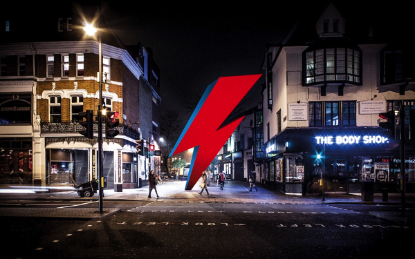 Campaign For David Bowie 'Thunderbolt' Memorial In Brixton Launched