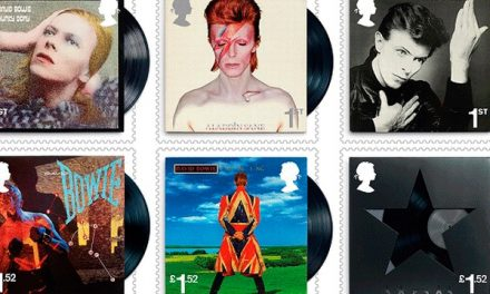 Video : David Bowie postage stamps
