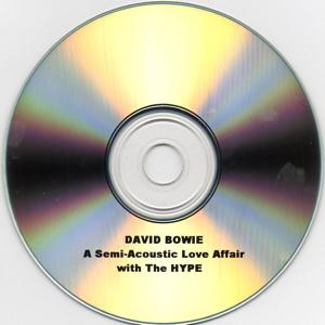 david bowie A Semi Acoustic Love Affair Disc