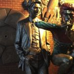 Video : David Bowie Statue Interview (exclusively with Andrew Sinclair) with Sculptor