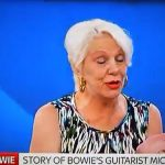 Video :Angie Bowie talks about the new movie 'Beside Bowie: The Mick Ronson Story'