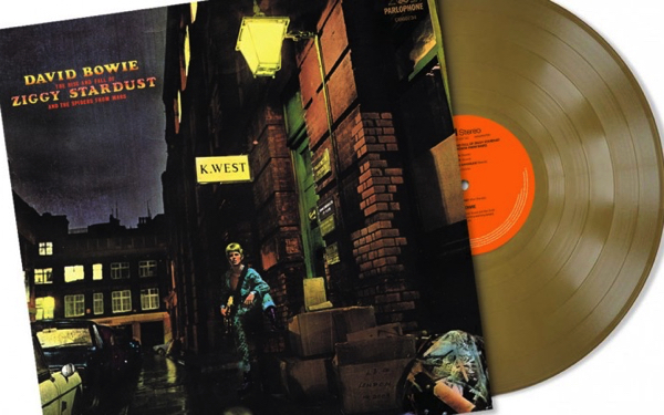 Hunky Dory ,Ziggy Stardust and Cracked Actor – Live Los Angeles '74 to be released on limited edition gold vinyl