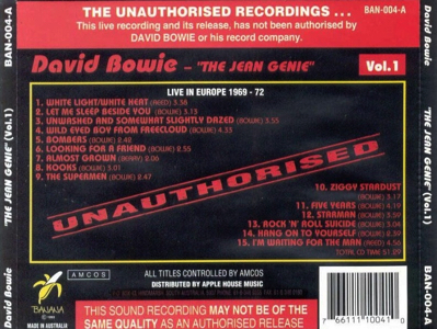 david-bowie-JEAN-GENIE-vol.-1