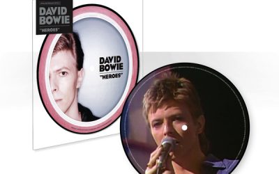 """David Bowie's """"Heroes"""" to be released as limited edition picture-disc"""