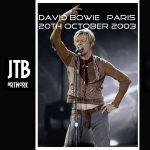 David Bowie 2003-10-20 Paris ,Palais Omnisports de Paris-Bercy – Paris – (remake reality in Paris) – SQ 8,5
