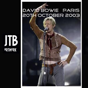 David Bowie 2003-10-20 Paris ,Palais Omnisports de Paris-Bercy - Paris - (remake reality in Paris) - SQ 8,5