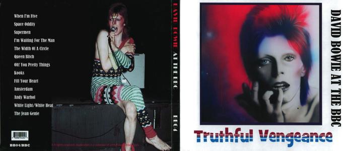 David Bowie - Truthful Venegeance - Front