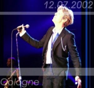 David Bowie 2002-07-12 Cologne ,E-Werk Festival (Off Master) - SQ 8,5