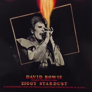 David Bowie 1972-10-07 Chicago ,Auditorium Theatre – Tongue Twisting Storm – SQ 7,5