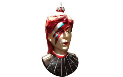 Ziggy Stardust Christmas Decoration : David Bowie on your tree