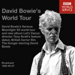 David Bowie 1983-06-07 BBC World Service - David Bowie's World Tour - SQ 9
