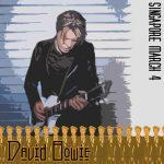 David Bowie 2004-03-04 Singapore Island ,Singapore Indoor Stadium ,Republic Of Singapore - SQ 8,5