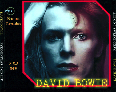 David Bowie - Ryko Bonus Disc - Front