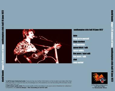David-Bowie- Ziggy's-25-Minutes-SOUTHAMPTON-1972