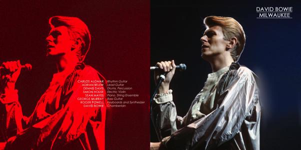 David Bowie 1978-04-24 Milwaukee, Mecca Auditorium