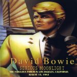 David Bowie 1983-08-15 Inglewood, Los Angeles ,The Forum – The Fabulous Forum – SQ 8,5
