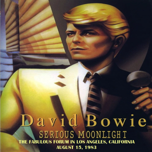David Bowie 1983-08-15 Inglewood, Los Angeles ,The Forum - The Fabulous Forum - SQ 8,5