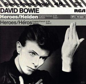 David Bowie Heroes - Helden - Heroes - Héros (1982)