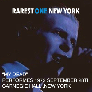 David Bowie 1972-09-28 New York ,Carnegie Hall (only one track) - SQ 10
