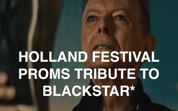 David Bowie s t a r g a z e Anna Calvi Soap & Skin Laetitia Sadier  Dutch premiere
