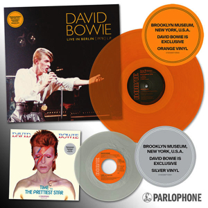 David Bowie vinyl exclusives for Brooklin Museum
