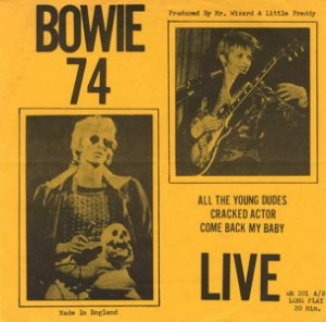 David Bowie 1974-09 Los Angeles ,Universal Amphitheatre 3rd,6th,7th or 8th september 1974 (EP) - SQ 7,5