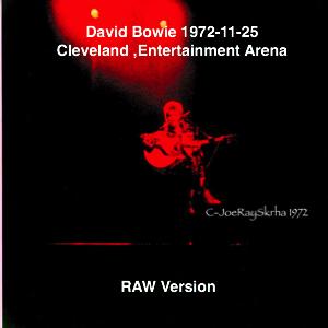 David Bowie 1972-11-25 Cleveland ,Public Auditorium (Source 1 Joe Ray Skrha - RAW Master) - SQ -8
