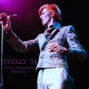 David Bowie 1974-11-24 Philadelphia ,Spectrum Theater - Philly '74 - (Version. 1) - SQ 6+