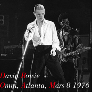 David Bowie 1976-03-08 Atlanta ,The Omni Arena - Omni ,Alanta ,Mars 8 1976 - (2) - SQ 5,5